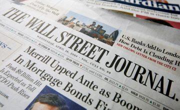 Le quotidien New-Yorkais « The Wall Street Journal » titrait un des ses articles il y a 4 jours comme cela !
