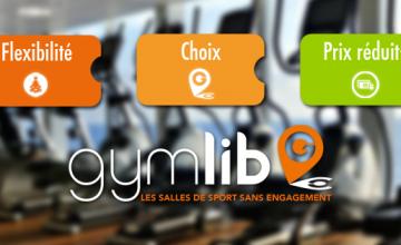 Gymlib ! Les clubs de fitness à la carte…