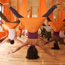 Quand le yoga s'envole !