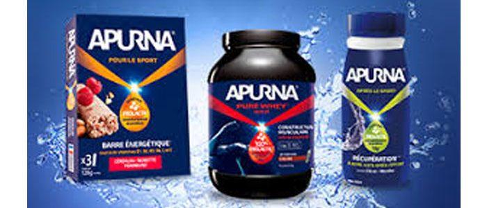 APURNA® est la 1ère gamme de nutrition sportive activée par Prolacta®.