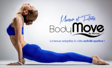 Le Groupe Moving lance sa ligne de vêtements ! Bodymove…