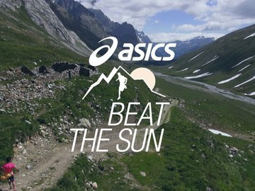 La folle course d'Asics : Beat The Sun !