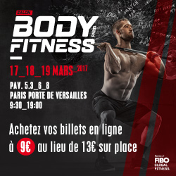 J-8 avant le Salon Body Fitness Paris 2017 !