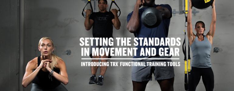 TRX… La nouvelle gamme d'équipements de functional training !
