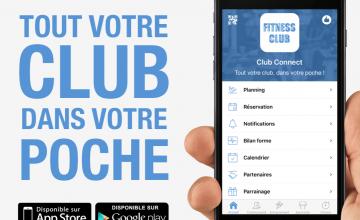 Elles arrivent : les applis pour clubs de fitness !