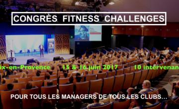Début de 4e édition du Congrès Fitness Challenges