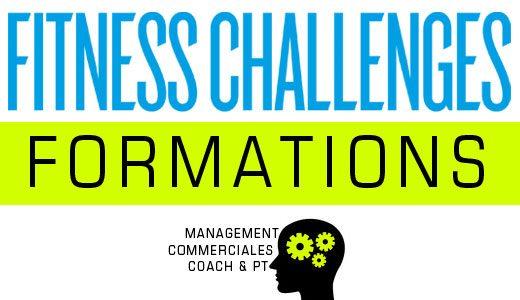 Les nouvelles formations fitness challenges !