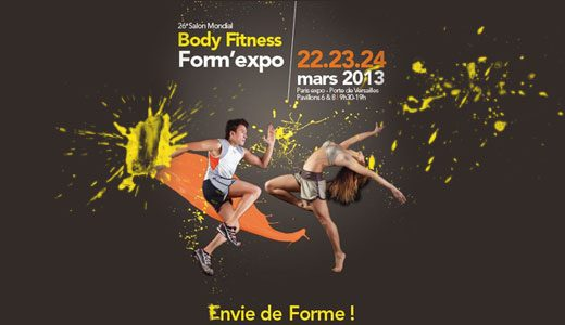 Nouvelles conferences fitness challenges et fit'pro au salon du fitness !