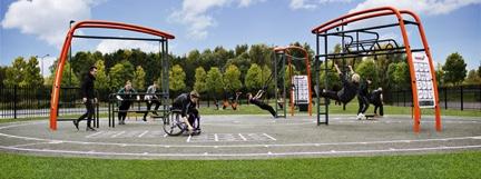 La première solution d'entraînement physique, en plein air, connectée de France!