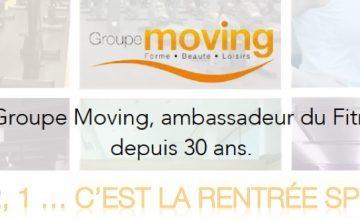 Nouvelle activité Moving pour la rentrée…