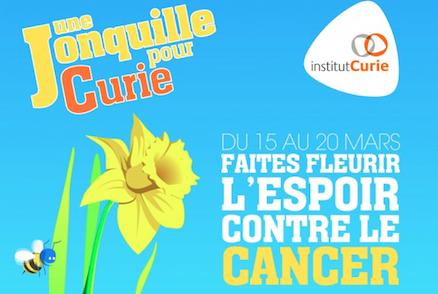 Keep Cool fait fleurir l'espoir contre le cancer aux côtés d'Une Jonquille pour Curie
