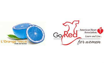 L'Orange Bleue et GO RED for WOMEN réunis !