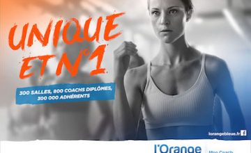 L'ORANGE BLEUE – Mon coach fitness