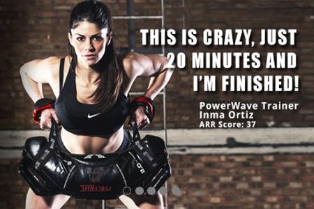 PowerWave, une nouvelle façon de s'entraîner…