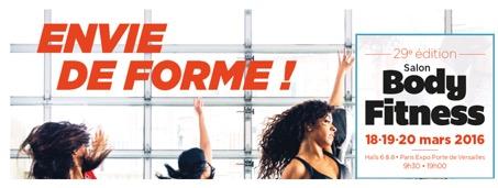 Le Salon Body Fitness, 3jours pour découvrir, tester et vivre le fitness!