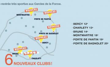 Les Cercles de la Forme compte désormais 25 clubs dans la capitale