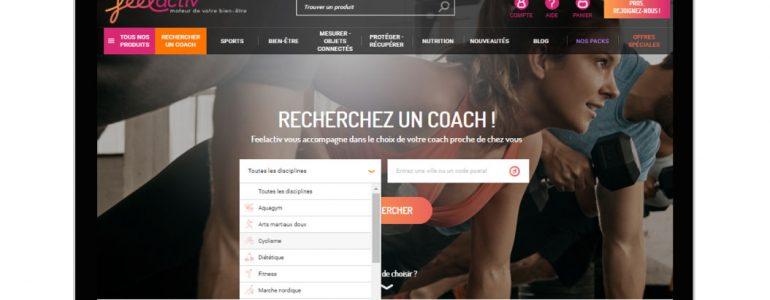 Feelactiv, le coaching personnalisé à portée de clic !