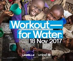 Les Mills & Unicef : Workout for Water – samedi 18 novembre 2017