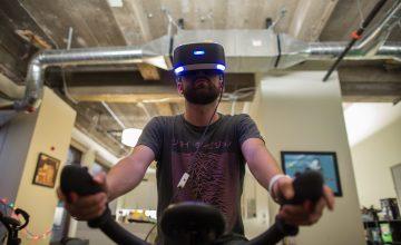 Du cycling en réalité virtuelle…