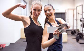 Un club de fitness a ouvert une pièce à selfies
