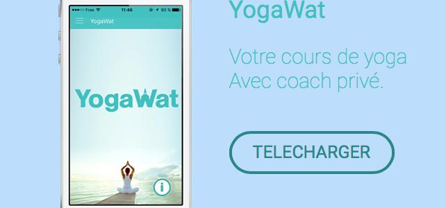 Partez en vacances avec votre application YogaWat !