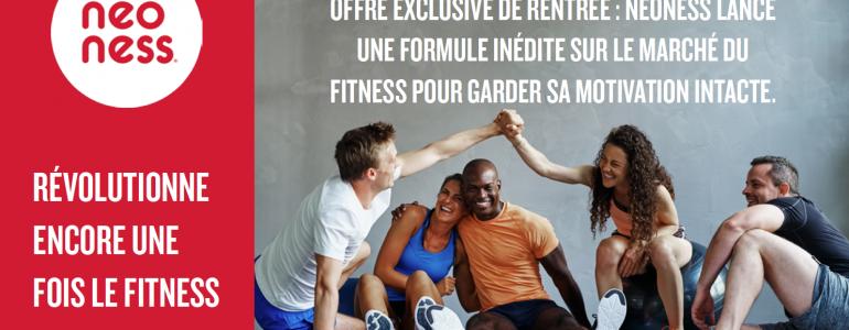 Neoness révolutionne encore une fois le fitness