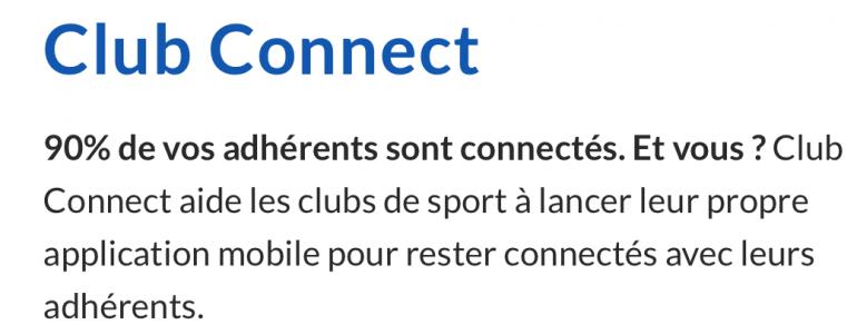 L'appli Connect : Prospectez et fidélisez !