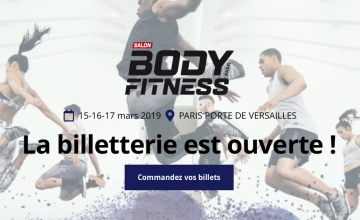 La 32e édition du salon Body Fitness Paris 2019 est lancée !