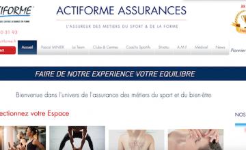 ACTIFORME ASSURANCES, l'Assureur du Fitness…