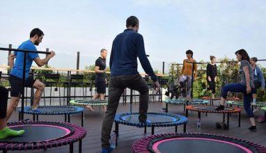 Envolez-vous dans les airs avec le trampoline Bellicon!