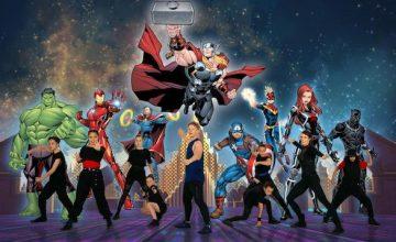 Les supers héros débarquent chez les Mills!