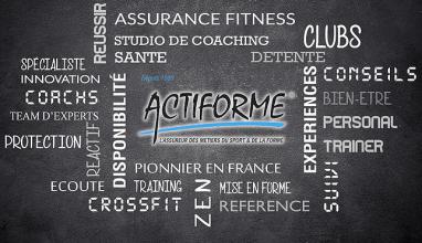 Actiforme, le partenaire assurance de FranceActive !
