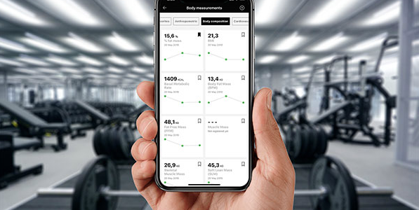 Wellness assessment de Technogym !