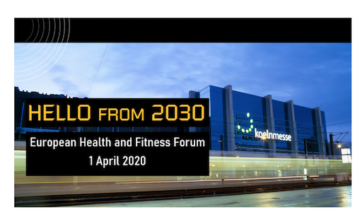 7e Forum Fitness Européen : HELLO from 2030 !