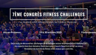 7ème Congrès Fitness Challenges reporté !