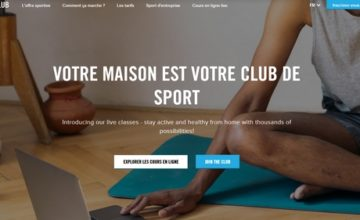 Urban Sports Club solidaire des clubs de fitness !
