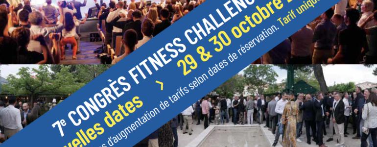 7ème Congrès Fitness Challenges… Positive attitude !