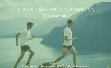 RunMotion Coach dévoile le Baromètre du Running…