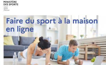 Offre de cours en ligne du Ministère des Sports, une provocation !