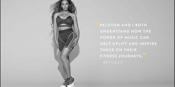 Peloton signe avec Beyoncé pour réaliser des entraînements spécifiques !