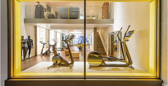 Technogym ouvre un magasin de détail à Los Angeles