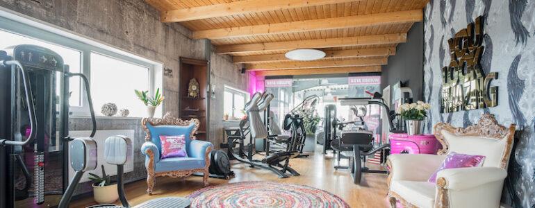 Panatta personnalise votre club de fitness !