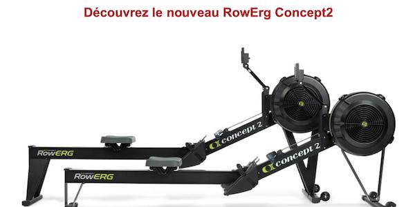 Découvrez le nouveau RowErg Concept2…
