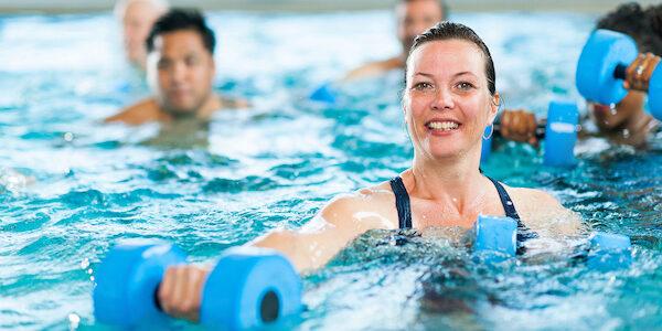 La COVID-19 ne résiste pas à l'Aqua Fitness !