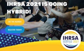 L'IHRSA devient hybride et dévoile son programme virtuel !